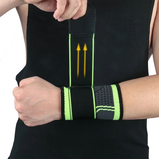 Sport Wrist Strap Breathable Fitness Gym Wrist Wraps