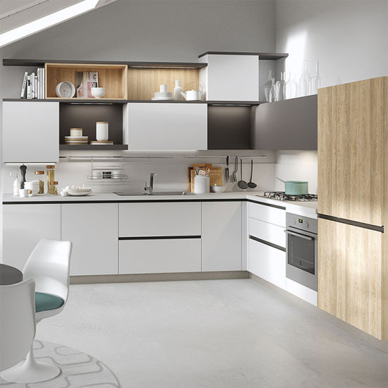 China Environmental Free Used Beautiful Kitchen Cabinets China High End Kitchen Cupboard Custom Made Kitchen Cabinet