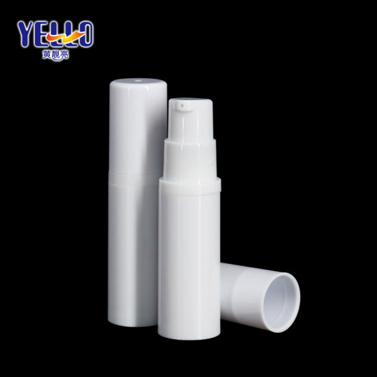 Wholesale Portable 5ml Empty Pet Plastic Small Airless Lotion Bottle