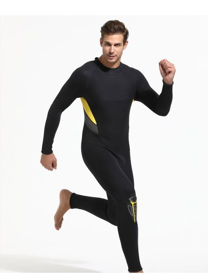 Men's Cr / SBR Swimming Diving Neoprene Surf Wetsuits, Customized Color Surfing Wetsuit