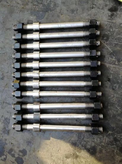 China Quenching Machining Thread Rod