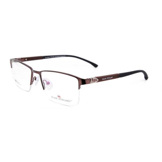 803b4ef5de1 2019 Popular Modern Style Tr90 Halfrim Best Quality Eyeglasses Metal Optical  Frames for Men. Get Latest Price