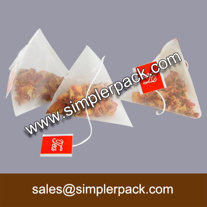 Wholesale Health Tea Filling Package Sealing Machine with Triangle Bag