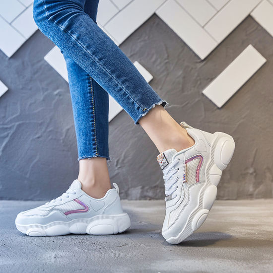 Latest Women Sneakers White Chunky