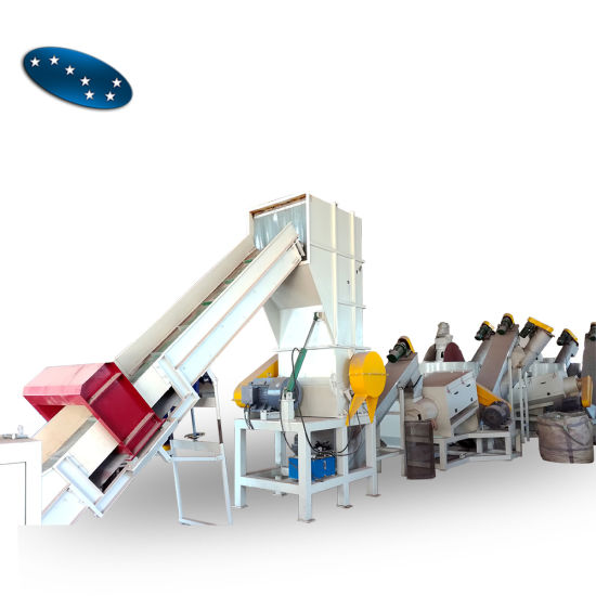 PE/PP Film/Bag Automatic Recycling Washing Line