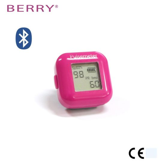 China LCD Display Berry Ring Pulse Oximeter for Measuring