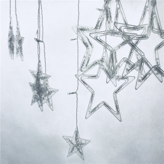 Holiday Decoration Wedding Decoration Color Changing Big Five-Pointed Star RGB LED Stirp Light