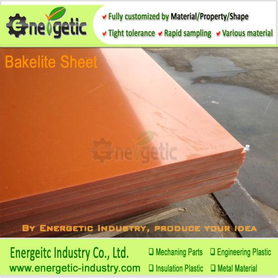 150x150x20mm Bakelite Phenolic Flat Plate Sheet Insulation Board Fixture Red