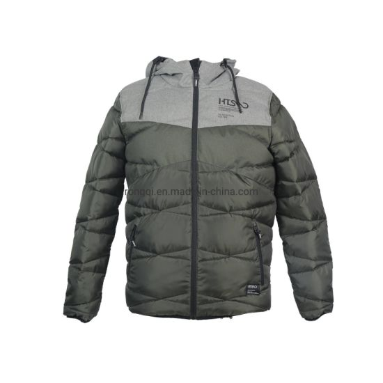 Men's Padded Hoody Quilting Jacket