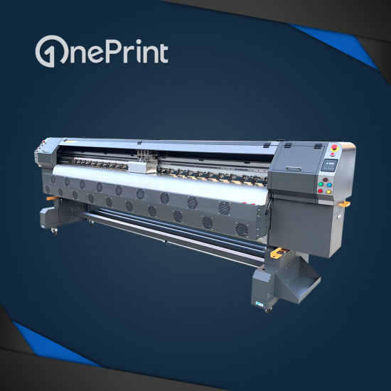 photo regarding Printable Vinyl Inkjet Printers referred to as Oneprint Electronic Flex Banner Vinyl Sticker Solvent Inkjet Printing Unit Sol-C8 with Unique Seiko Konica Printhead