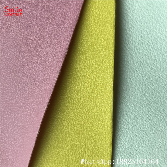 Artificial Leather/Synthetic Faux PVC Leather for Car Seat Cover