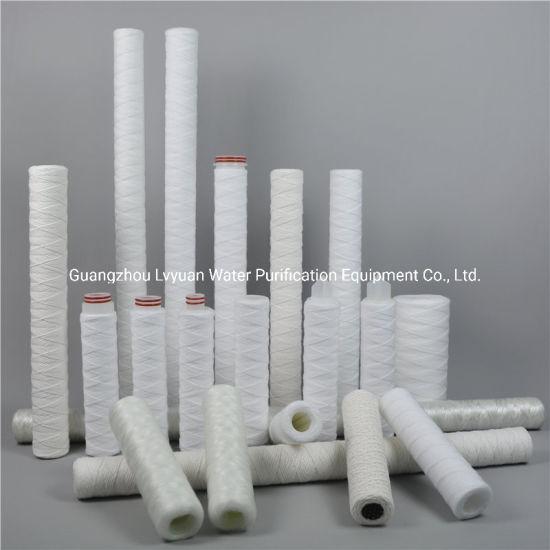 Guangzhou Factory Drink Water Purification Cartridge Polypropylene PP String Wound Filter