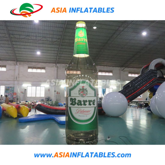 Inflatable Beer Bottle Model, Advertising Inflatable Bottle Replica pictures & photos