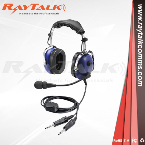 97c41573fc0 Aviation Headset Pnr Headset with Flexible Boom Microphone Blue Color  pictures   photos