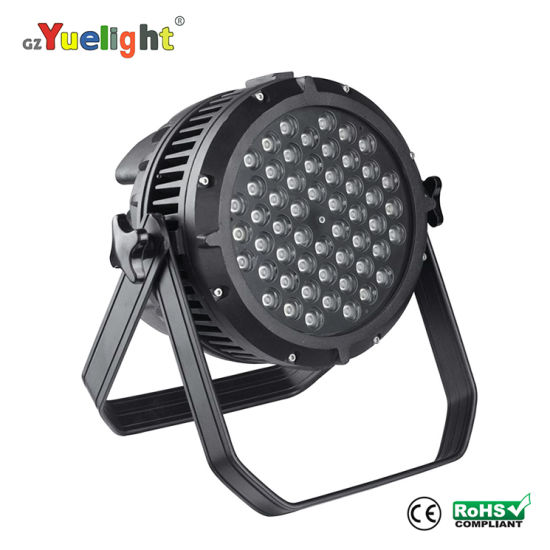 Full Color 54 PCS 3W LED Wall Washer PAR Light for Outdoor Lighting