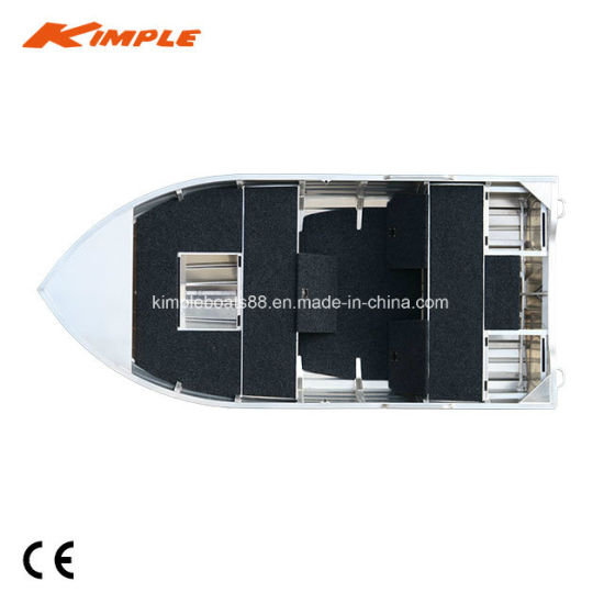 Kimple Hunter 395m Aluminium Boot - 3.95m/13FT with Ce Certification Fischer Boot