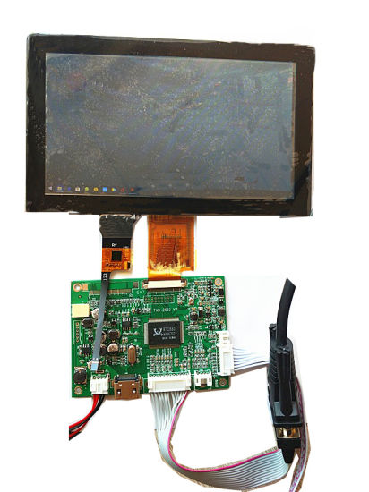 China Capacitive Touch Panel and LCD Display Screen CTP Rtp