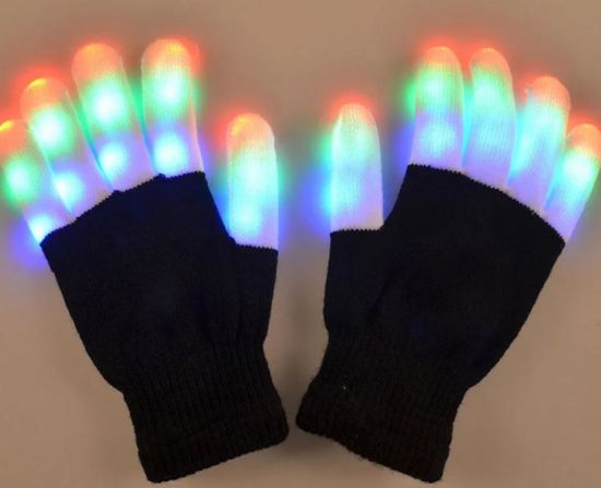 China Party City LED Gloves Bulk Amazon Ebay Walmart for Sale pictures & photos