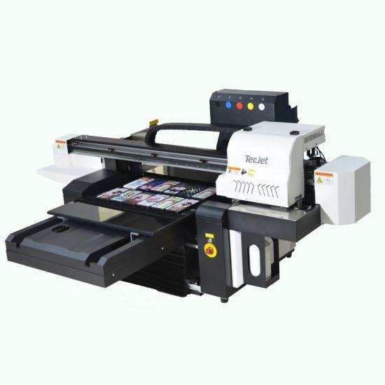 Tecjet 600*900mm Digital Flatbed UV Printer Glass Printing Machine