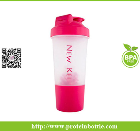 500ml Plastic Protein Shaker with Plastic Ball