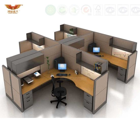 Beau Contemporary Office Desk Office Cubicle, Office Workstation