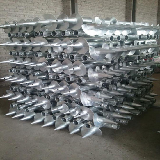 Hot Dipped Galvanized Solar Ground Screw pictures & photos