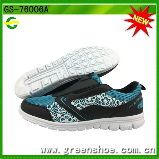 New Design Comfortable Women Sport Shoes pictures & photos