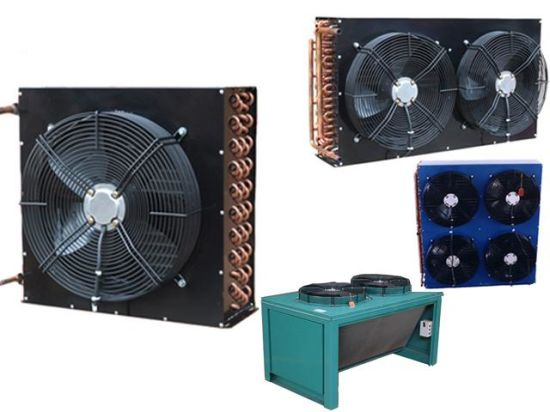Refrigeration Copper Tube Air Cooled Condenser pictures & photos
