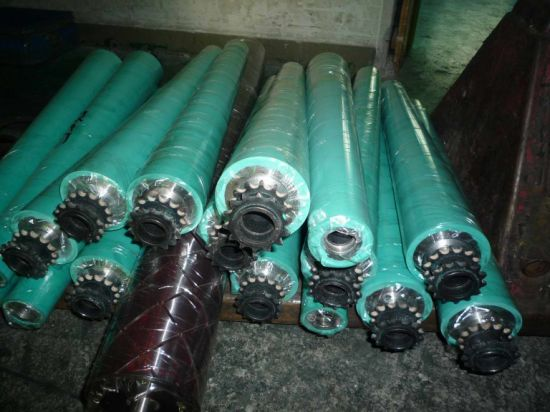 Rubber Support Roller as on Machinery Support Parts pictures & photos
