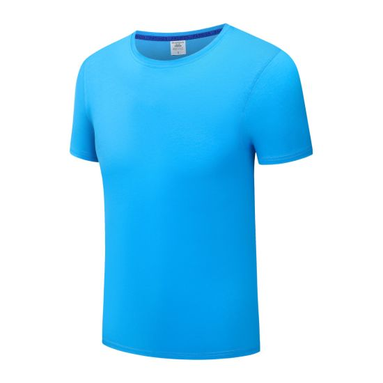 Custom T-Shirts with Round Neck in Various Colors, Sizes and Materials