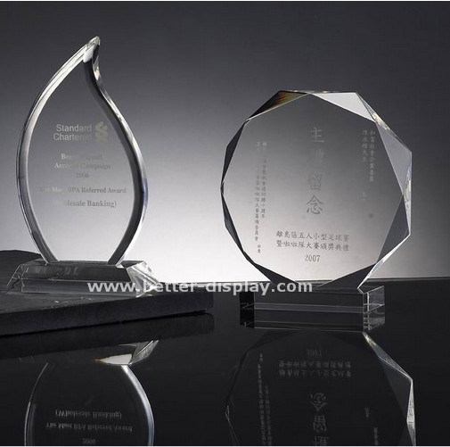 Wholesale Clear Acrylic Blank Glass Award pictures & photos
