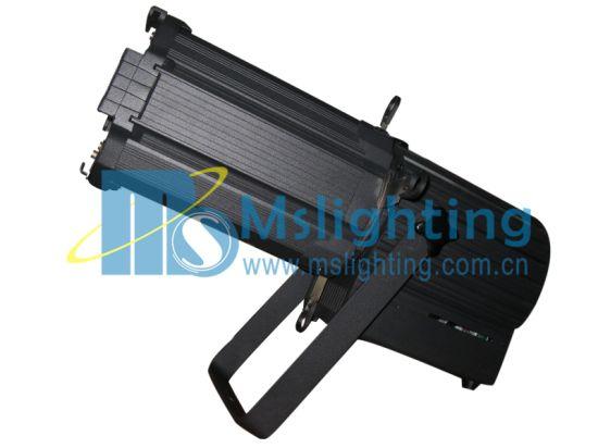 300W RGB 3in1 COB LED Profile Spot Ellipsoidal Zoom 12° -40° LED Stage Light