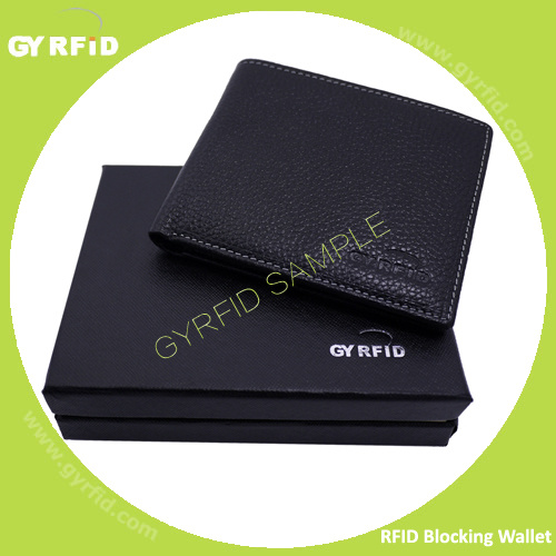 Male Business Genuine Leather Shielding RFID NFC Wallet Anti Magnetic Anti Scanning Bank Credit Card Holder