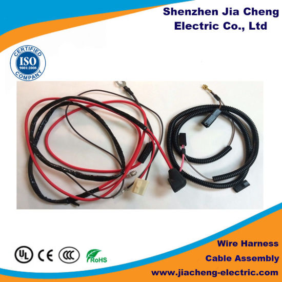 Stupendous China Red Black Quick Disconnect Wire Harness Cable Assembly China Wiring 101 Capemaxxcnl