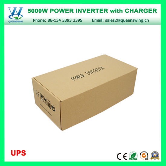 UPS Charger Inverter 5000W High Frequency Car Inverters (QW-M5000UPS) pictures & photos