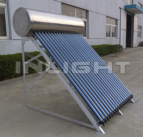 Compact High Pressure Stainless Steel Heat Pipe Solar Thermal Water Heater System