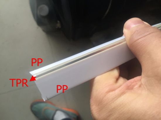 Extrusion Profile for PVC TPR Hingle pictures & photos