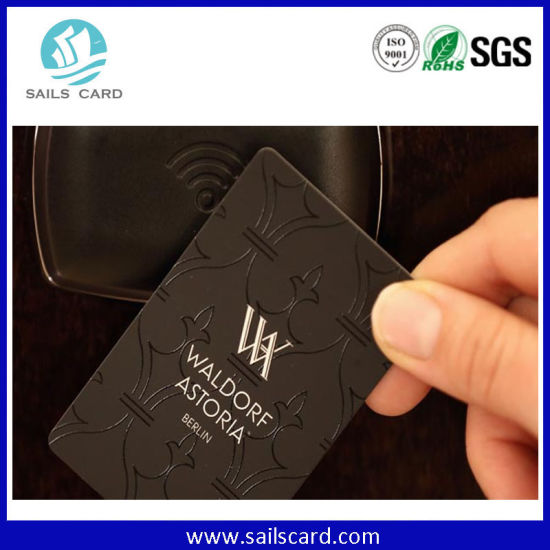 Dual Frequency Contactless RFID Key Card for Access Control pictures & photos