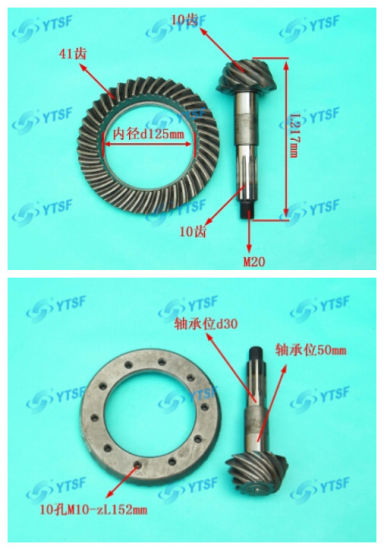 Bevel Pinion Gear/Jinbei Parts/Auto Parts pictures & photos