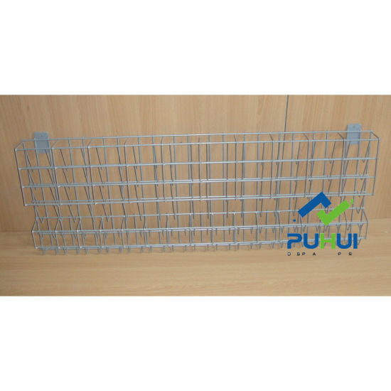 Shop Accessory Retail Slat Wall Iron Wire Rack Holder (PHH104A)