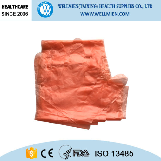 Long Sleeve LDPE Glove for Slaughtering and Food Processing pictures & photos