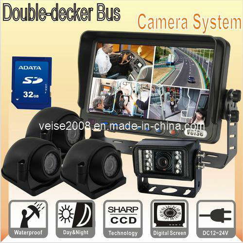 Passenger Bus DVR Quad Rear View System (DF-7370AI314DVR) pictures & photos