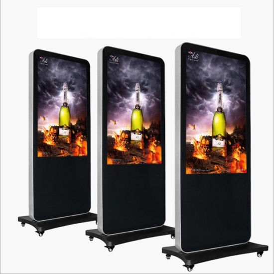 40/43/49 Inch Floor Stand Touch Screen Digital Signage Ad Player