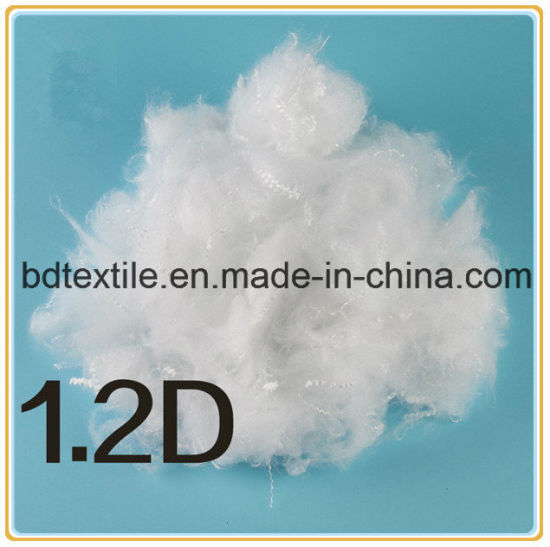 Grade a Hcs Hollow Conjugated Polyester Staple Fiber Bedding Fiber pictures & photos