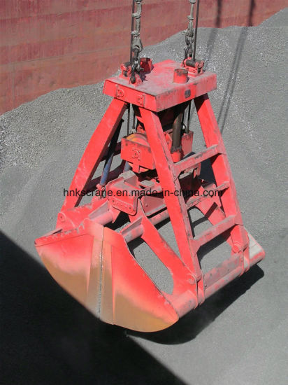 Four Rope Mechanical Prevent Leakage Double Disc Grab