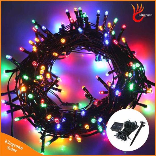 Kingconn Solar Energy Light 100/200 LED Decorative Fairy Garden String Light