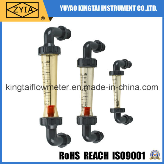 Hot Sell Plastic PVC Pipeline Water Flowmeters in RO Systems