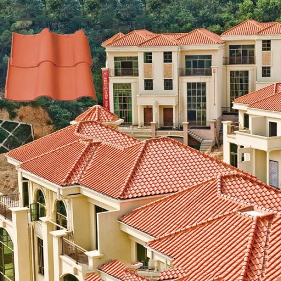 China Good Prices In Sri Lanka Nigeria Spanish Clay Roof Tile China Clay Ceramic Tile Western Style Roofing Tile