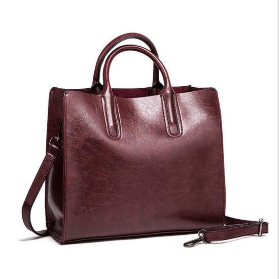 f1e0d369ef China Latest Styles Design Women Handbag Cheap PU Ladies Tote Bag ...
