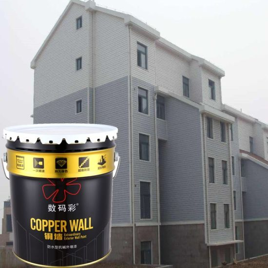 China Waterproof Best Exterior Paint Asian Paints Wall Paint - China ...